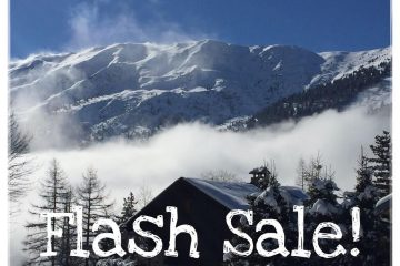 9th and 16th December: FLASH SALE