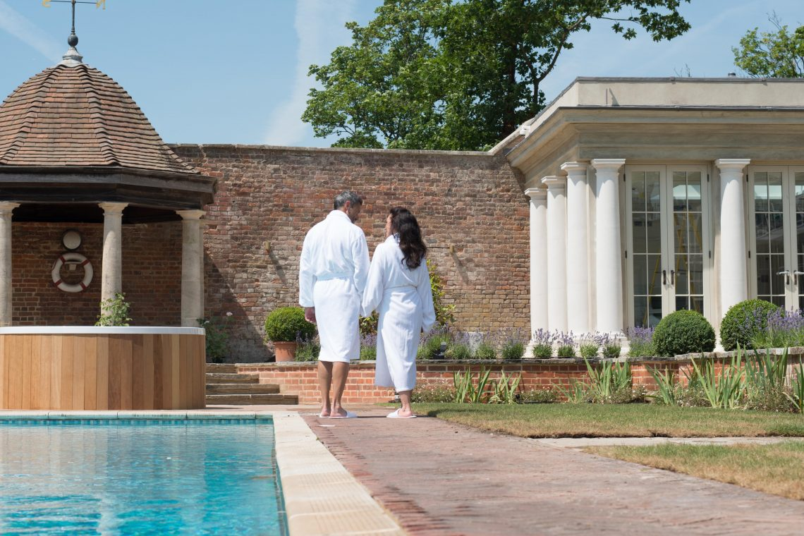 Couple at Cliveden House Spa