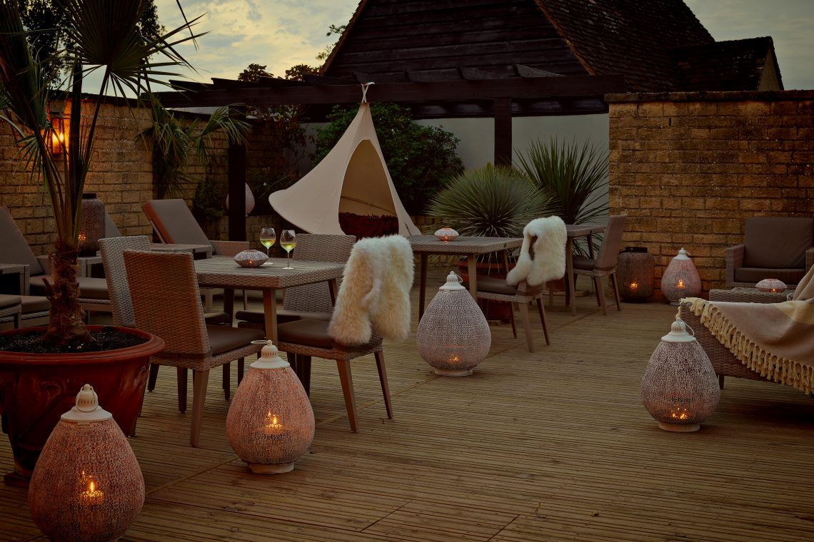 The Lygon Arms Spa Terrace
