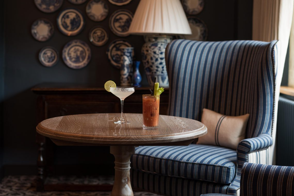 The Lygon Arms Terrace Room