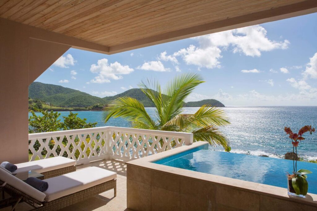All-inclusive holiday in Curtain Bluff